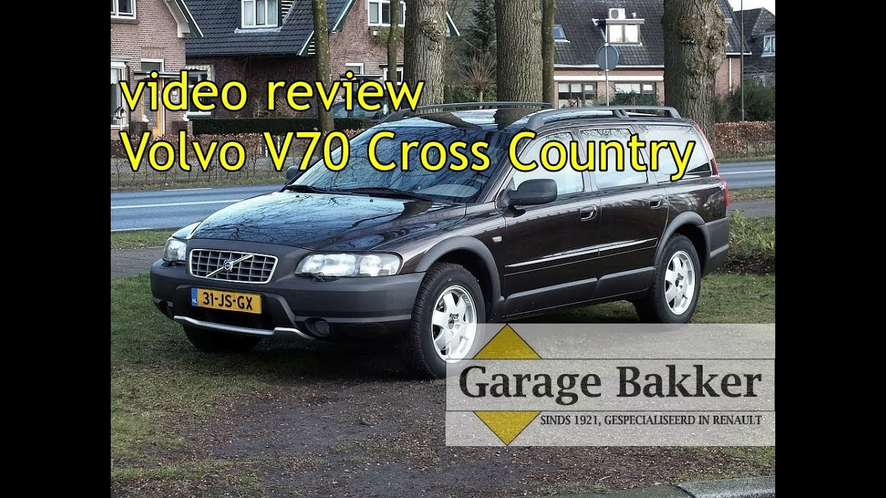Video review Volvo V70 Cross Country 2 4 T Automaat, 2002, 31-JS-GX