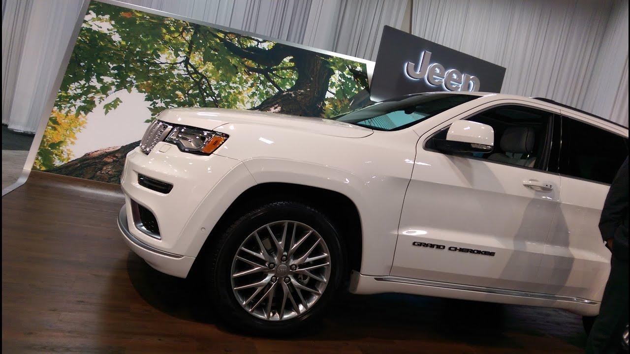 Grand Cherokee Ecodiesel >> 2017 Jeep Grand Cherokee Ecodiesel Summit Quick Look