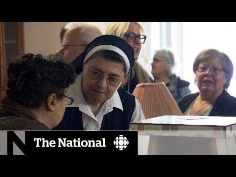 Nuns hold garage sale ahead of big move