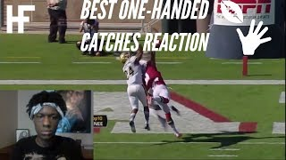 Best One Handed Catches in Football History Reaction