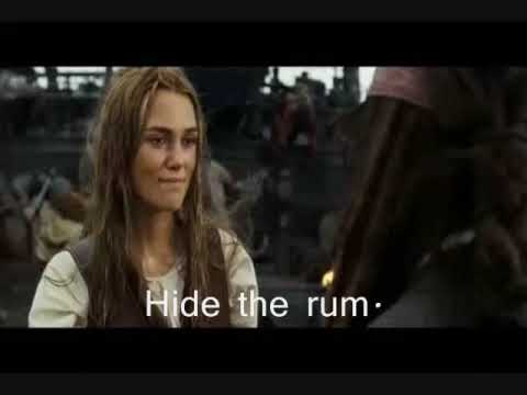 Pirates of The Caribbean - He's a Pirate with Lyrics! Special Edition!