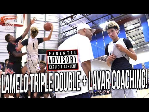 LaMelo Ball TRIPLE DOUBLE to MATCH Lonzo in 1st Summer Game + Lavar LIVE COACHING COMMENTARY!
