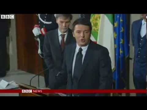 Italy to swear in Prime Minister Matteo Renzi