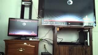 White westinghouse 46 inch LED HDTV input delay test
