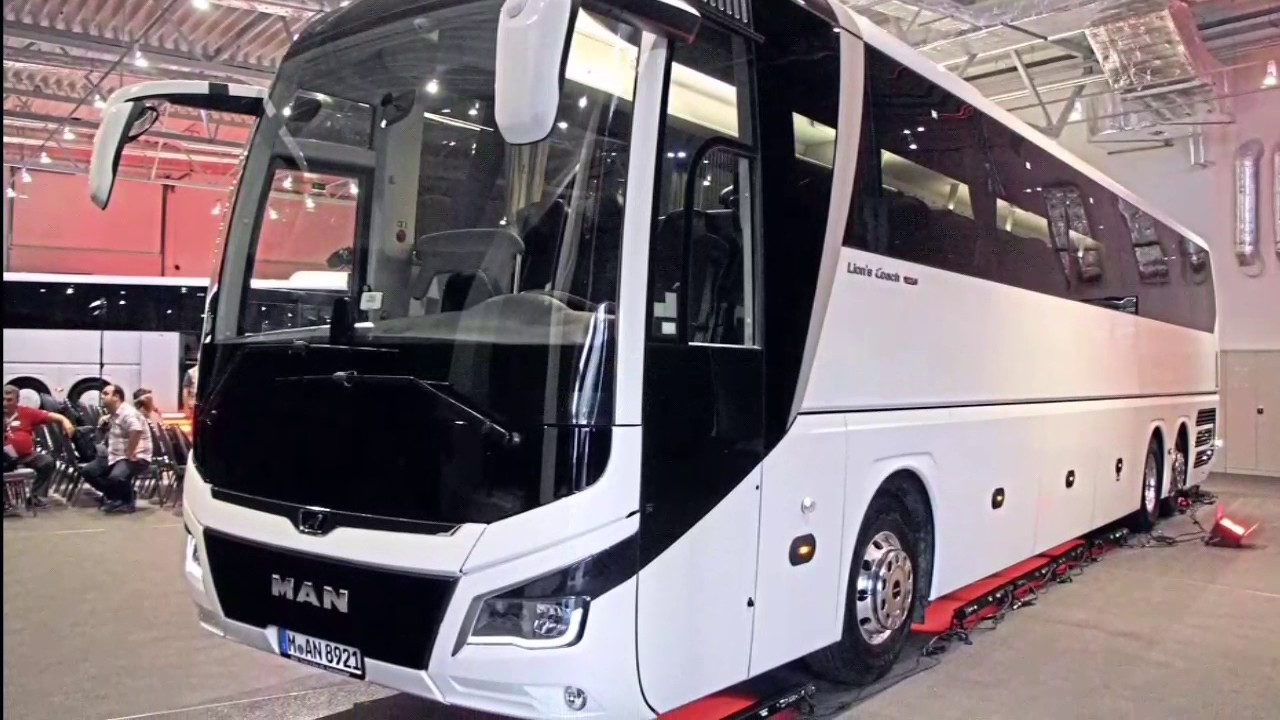 New Man Lion S Coach Bus Review Youtube