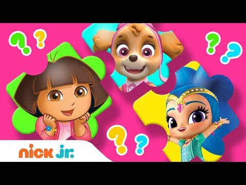 Puzzle Playtime! Ep 4 🤩 Nick Jr. Girls Save the Day! | Nick Jr. Games | Nick Jr.
