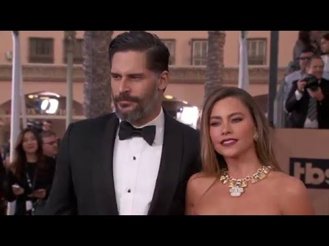 Joe Manganiello & Sofia Vergara SAG Awards Arrivals 2016