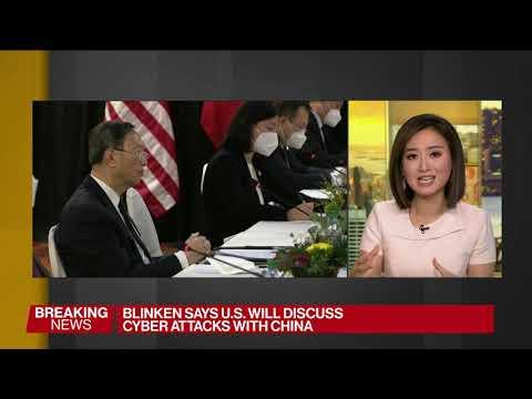 U.S., China Officials Begin First Talks Since Biden Took Office
