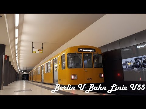 Berlin U - Bahn Linia U55 | Waggon Union F76 #2622