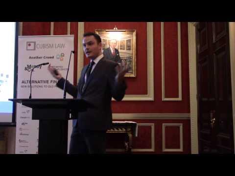Kieran Garvey of the Cambridge Centre for Alternative Finance
