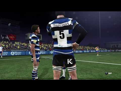 Bath vs Clermont | Rugby Champions Cup Live Gameplay |
