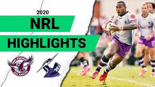 Sea Eagles v Storm Match Highlights | Round 1 NRL 2020