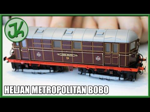 Heljan Metropolitan BoBo - 9001 - Box Opening and Review