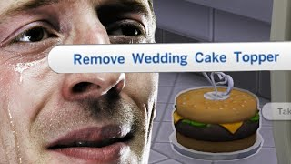 Wedding Cake For One - (loneliest Man In The World) - The Sims 4  - | 2 |