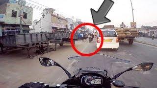 ZX-10r Scaring Animals  | Delhi To ...