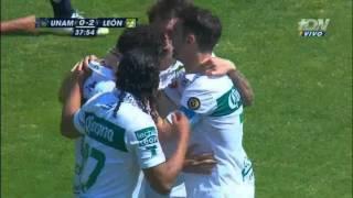 J5: Pumas 1 - 3 León / Clausura 2015