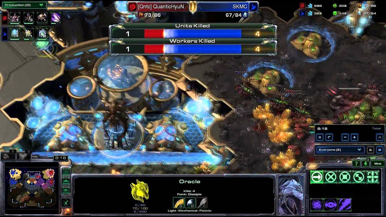 HD Starcraft 2 Hyun v MC ZvP g1