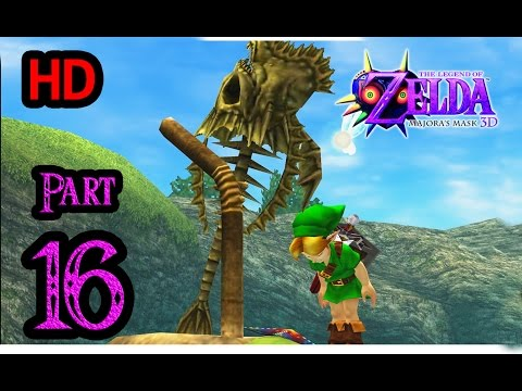 Zelda Majora's Mask 3D 100% Walkthrough 1080p HD Part 16 - Great Bay Coast