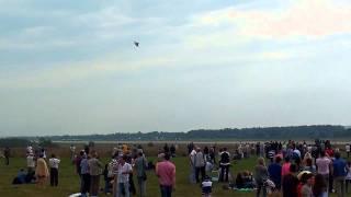 F-15 Strike Eagle демо полет МАКС 2011