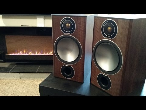 Monitor Audio Bronze 2 Bookshelf Speakers - Walnut