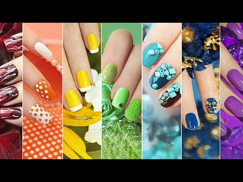 wonderful nail art designs// easy to make  youtube