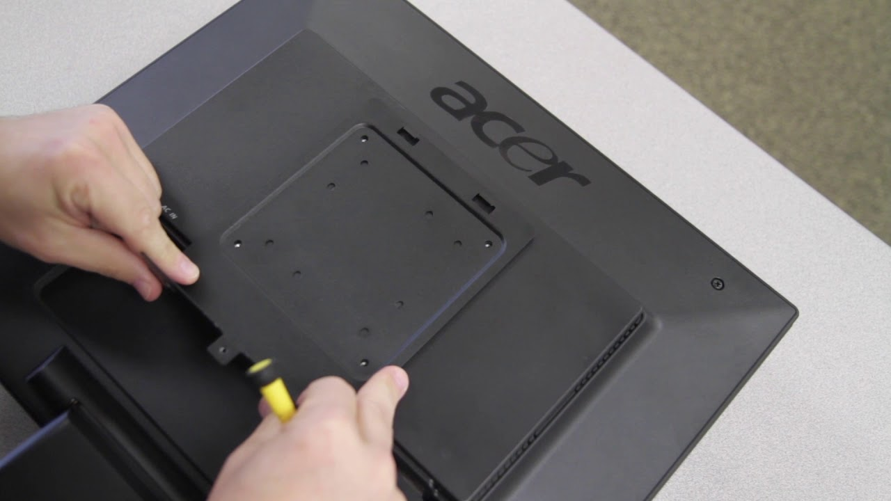 Chromebox How To Attach The Vesa Mount Youtube