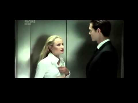Together with a beautiful girl stuck in an elevator