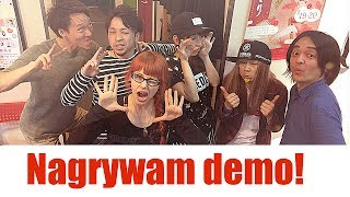 Nagrywam demo w Japonii!