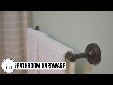 How to Install Bathroom Hardware - Glacier Bay