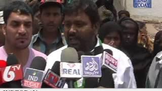 Indian Muslim League Chevella MP candidate campaign in Shaheen Nagar