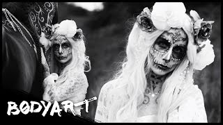 WHITE Princess & BLACK Beauty  || FACEPAINTING (mit KUPFERFUCHS & Pferd)