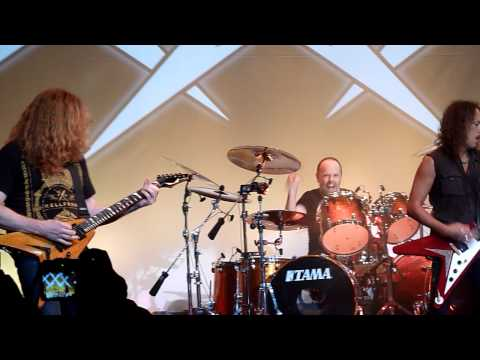 Metallica w Dave Mustaine  Jump in the Fire Live in San Francisco, December 10th, 2011