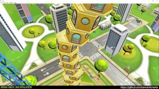 Xenia Xbox 360 Emulator - Tower Bloxx Deluxe Ingame #2 TEST!