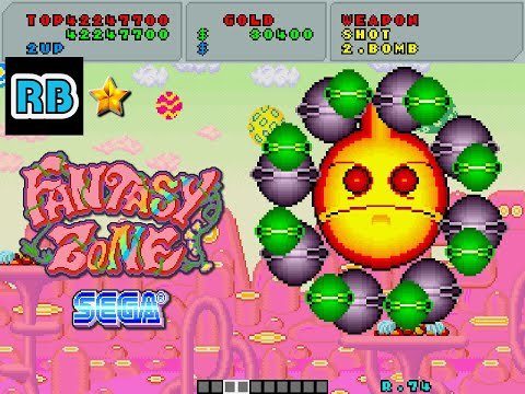 1986 [60fps] Fantasy Zone 45870300pts Loop11-1