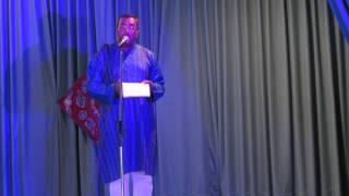 Atanu Sarkar singing ei meghla dine ekla at Basanto Utsav, Kitchener,ON.