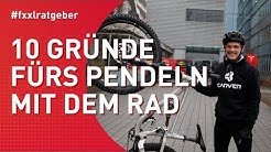 10 Gründe fürs Pendeln mit dem Fahrrad statt mit dem Auto. It's bike to work day!