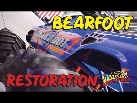 Bearfoot Racer Monster Truck Build Jeff Cook Wildman Adventures Episode 43