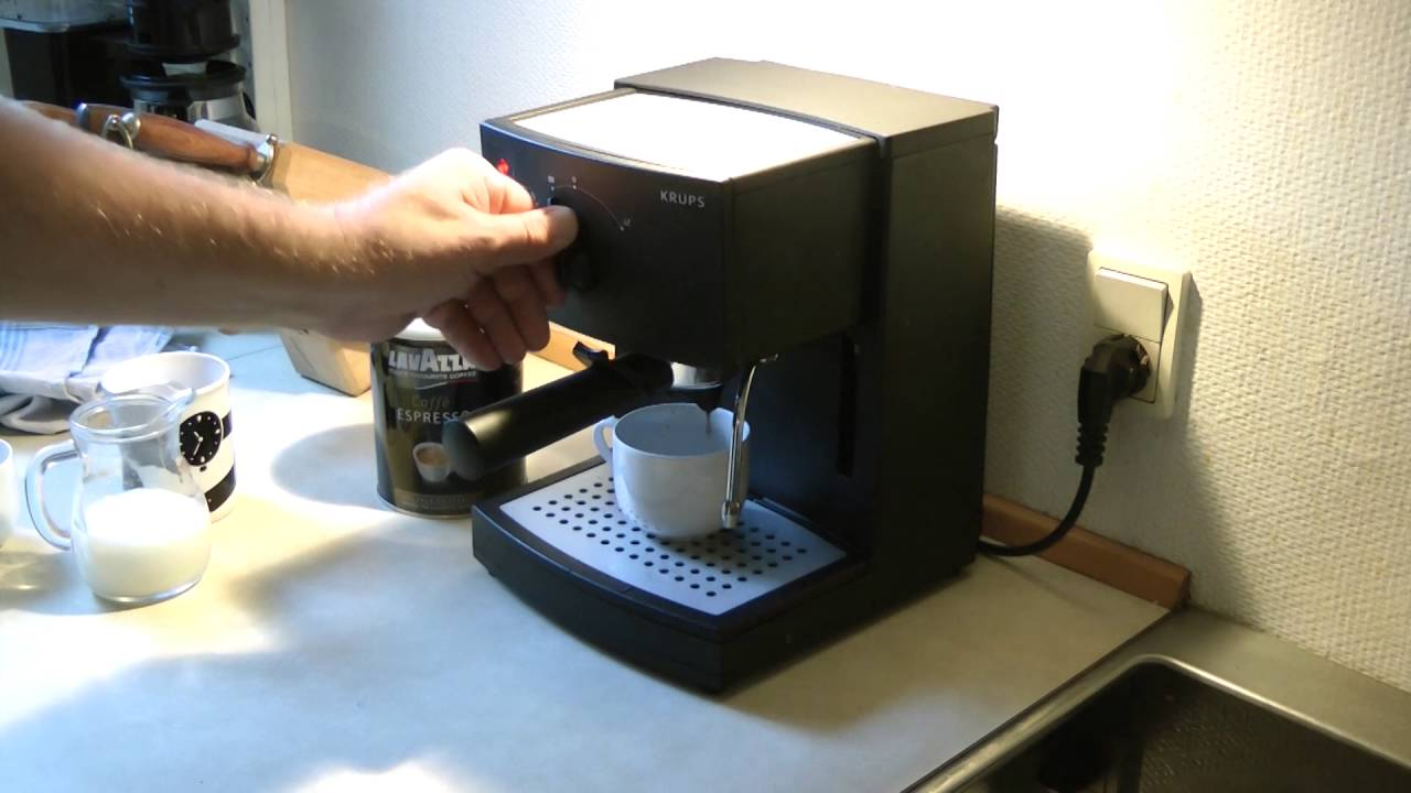 my new old krups fnc1 espresso machine youtube. Black Bedroom Furniture Sets. Home Design Ideas