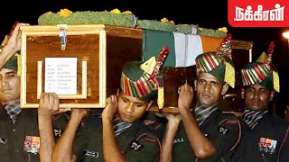 Army Pays tribute to Tamil Soldiers martyred in JK's avalanche