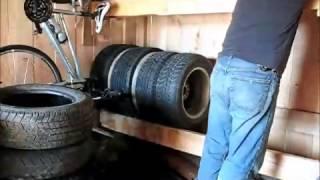 Tire Rack Re-Do..