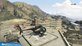 Grand Theft Auto V - Buzzard Attack Helicopter Location