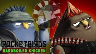 Rocketbirds Hardboiled Chicken Gameplay PC HD