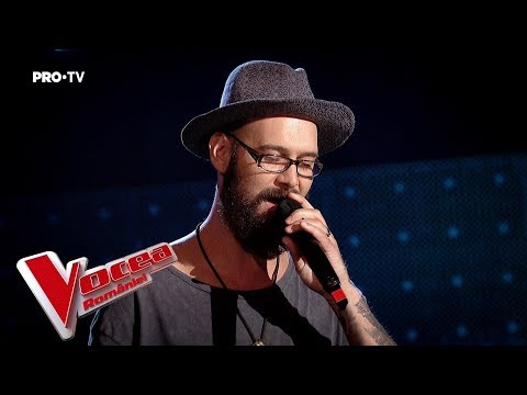 Mihai Meiros - Skin | Blind Auditions | The Voice of Romania 2018