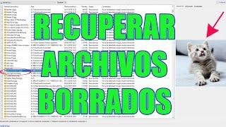 Recuperar Archivos Borrados de un disco duro pendrive o tarjeta SD | Recuva PC