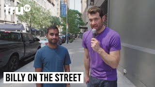 Billy on the Street - Aziz on the Street!