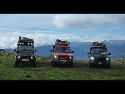 "Landrover Offroad Trans Pyrenees Adventure 2016 ""I'm back again"""