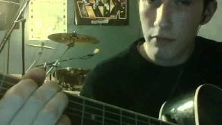 carry this picture by dashboard confessional guitar lesson
