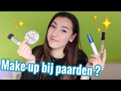 Make-up voor bij de paarden | LeanneAbigail