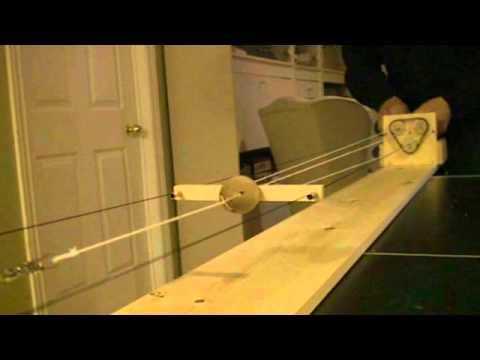 Scale Rope Making Using A Ropewalk