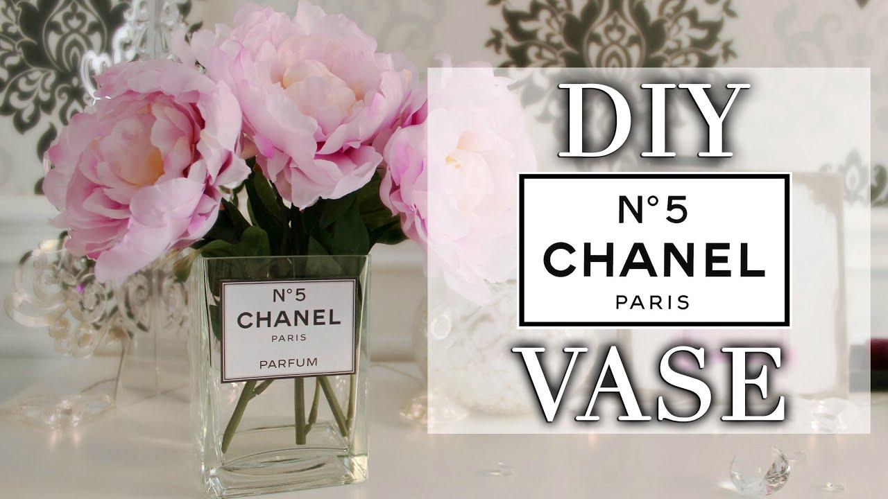 Diy Quot Chanel N 176 5 Parfum Quot Vase Youtube